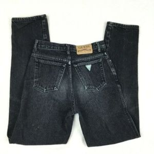 90s GUESS GEORGES MARCIANO High Rise Mom Jeans